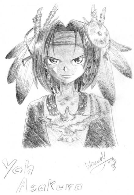 Hiroyuki Takei, Shaman King, Yoh Asakura, Member Art