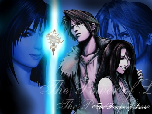 Square Enix, Final Fantasy VIII, Rinoa Heartilly, Squall Leonhart Wallpaper