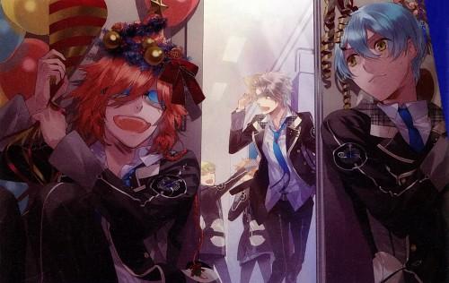 Kazuaki, Starry Sky, Kazuki Shiranui, Homare Kanakubo, Ooshirou Shirogane