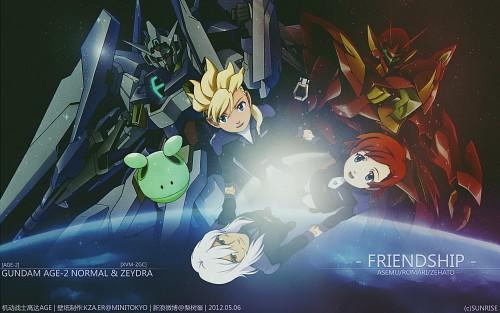 Mobile Suit Gundam AGE Wallpaper