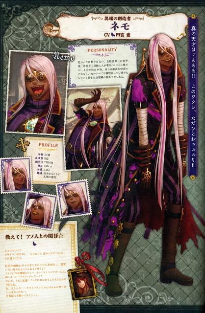 miko (Mangaka), Idea Factory, Code: Realize Official Visual Fan Book, Code: Realize, Nemo (Code: Realize)