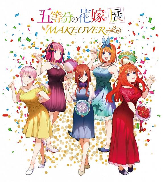 Negi Haruba, Go-toubun no Hanayome, Yotsuba Nakano, Nino Nakano, Miku Nakano
