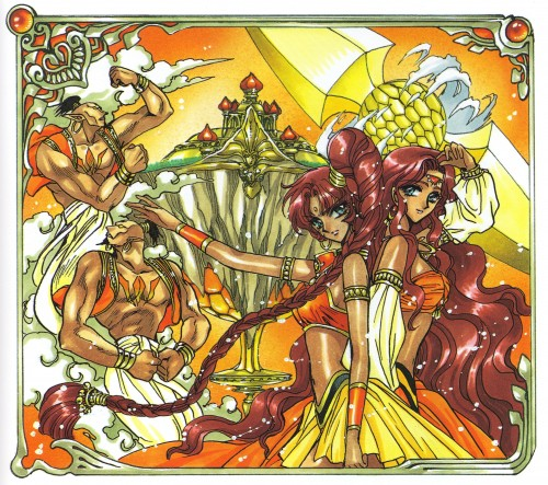 CLAMP, Magic Knight Rayearth, Magic Knight Rayearth 2 Illustrations Collection, Tarta, Tatra