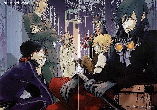 Akitsugu Fujino, Black Blood Brothers, Sei (Black Blood Brothers), Kotaro Mochizuki, Sayuka Shiramine