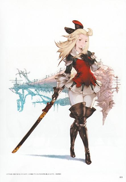 Akihiko Yoshida, Square Enix, Bravely Default, Edea Lee