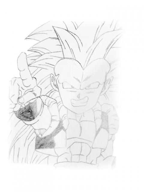 Akira Toriyama, Dragon Ball, Gotenks, Member Art