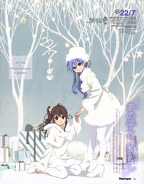 Yukiko Horiguchi, 22/7, Jun Toda, Akane Maruyama, Newtype Magazine