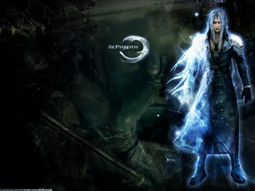 Square Enix, Final Fantasy VII: Advent Children, Sephiroth Wallpaper