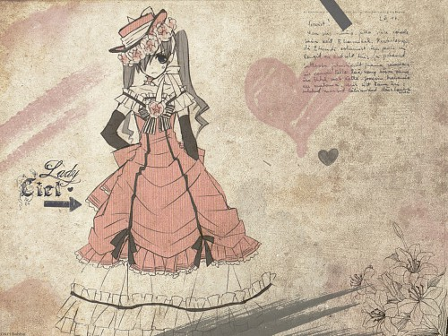 Yana Toboso, A-1 Pictures, Kuroshitsuji, Ciel Phantomhive Wallpaper