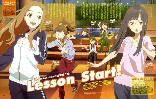 Tatsunoko Production, Ordet, Wake Up Girls!, Miyu Okamoto, Airi Hayashida