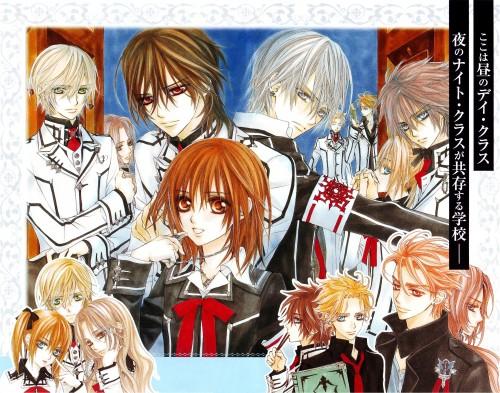 Matsuri Hino, Vampire Knight, Vampire Knight Official Fanbook, Takuma Ichijou, Rima Touya