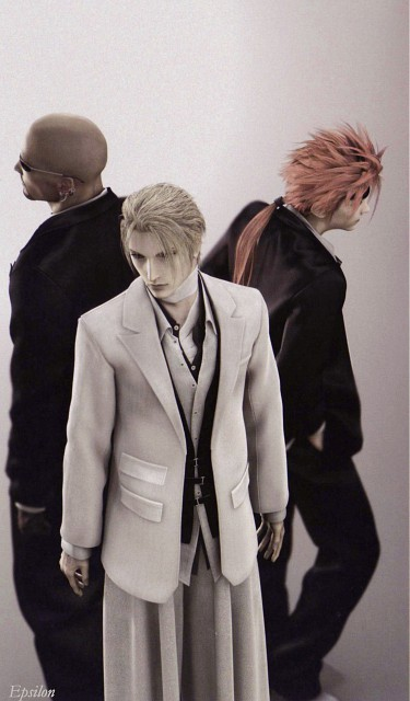 Square Enix, Final Fantasy VII: Advent Children, Reno, Rufus Shinra, Rude