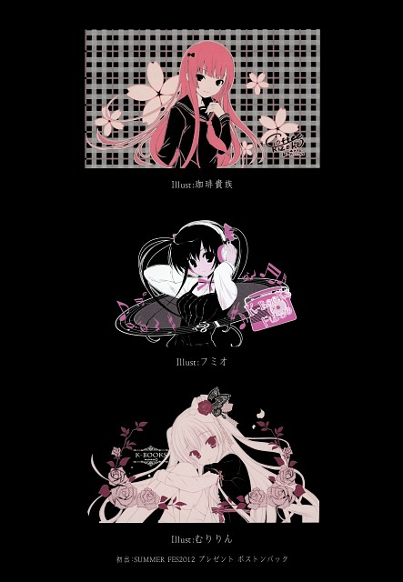Fumio, Muririn, Coffee Kizoku, K-books Heroines Best 5, Comic Market 84
