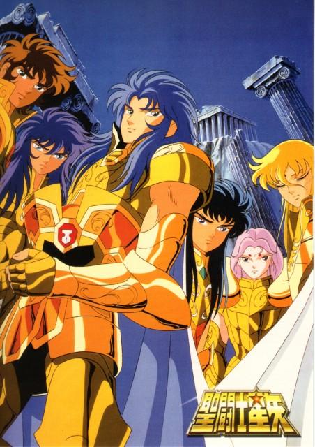 Masami Kurumada, Toei Animation, Saint Seiya, Leo Aiolia, Aquarius Camus