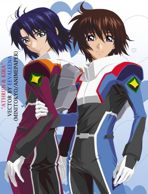 Sunrise (Studio), Mobile Suit Gundam SEED Destiny, Kira Yamato, Athrun Zala, Vector Art