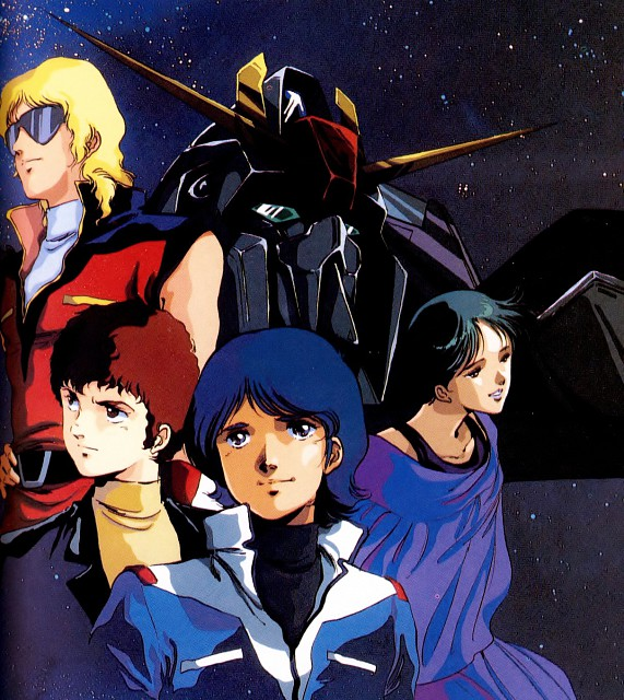 Haruhiko Mikimoto, Sunrise (Studio), Mobile Suit Zeta Gundam, Char Aznable, Four Murasame