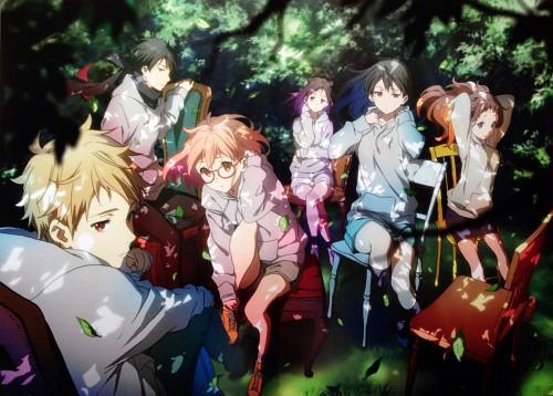 Kyoto Animation, Kyoukai no Kanata, Ai Shindou, Mitsuki Nase, Hiroomi Nase