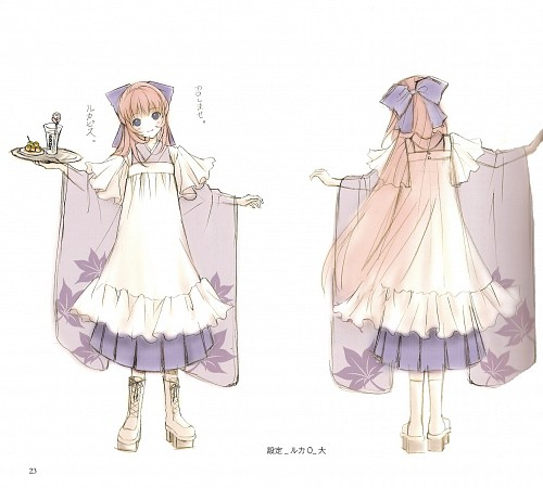 Ittomaru, KurousaP Works Collection, Vocaloid, Luka Megurine, Character Sheet