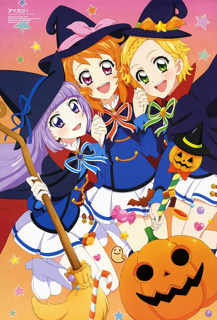 Kasumi Sakai, Sunrise (Studio), Aikatsu!, Hinaki Shinjou, Sumire Hikami