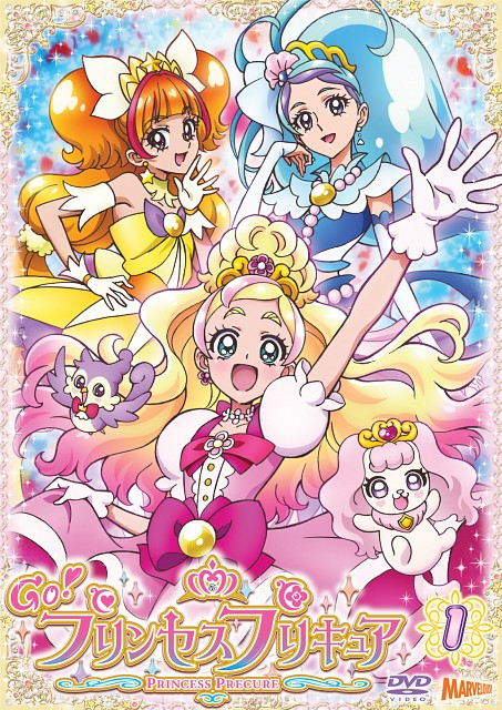 Toei Animation, Go! Princess Precure, Puff (Go! Princess Precure), Cure Mermaid, Aroma