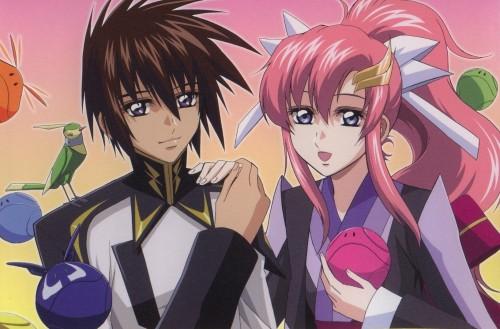 Mobile Suit Gundam SEED Destiny, Lacus Clyne, Kira Yamato, Haro, Animedia