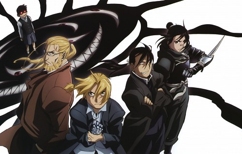 BONES, Fullmetal Alchemist, Greed, Lan Fan, Van Hohenheim