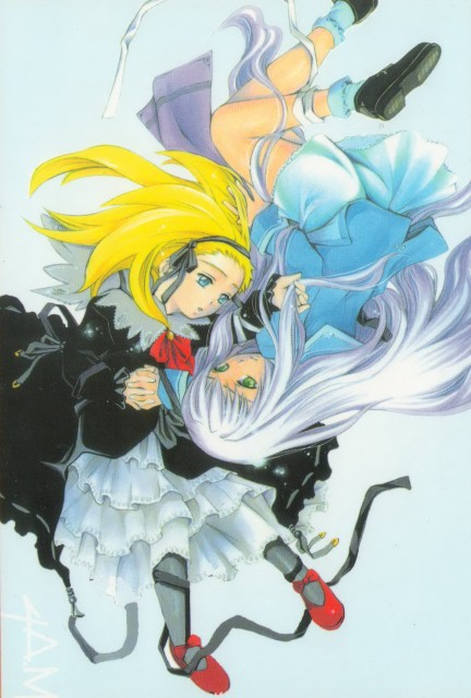 Hisayuki Hirokazu, My-HiME, Mashiro Kazahana, Alyssa Searrs, Manga Cover