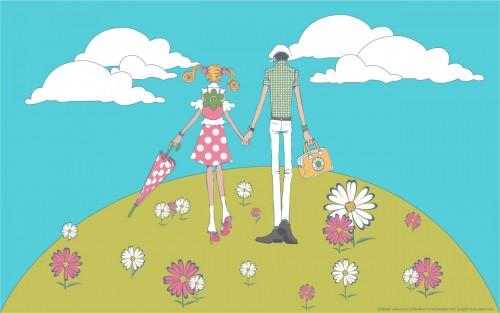 Ai Yazawa, Gokinjo Monogatari, Tsutomu Yamaguchi, Mikako Kouda, Vector Art Wallpaper