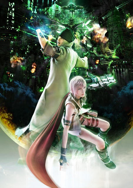 Square Enix, Final Fantasy XIII, Snow Villiers, Lightning (FF XIII)