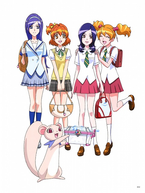 Toei Animation, Fresh Precure!, Hisashi Kagawa Toei Animation Precure Works, Love Momozono, Tarte (Fresh Precure)