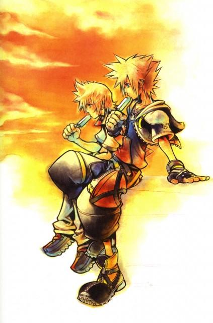 Square Enix, Kingdom Hearts, Sora, Roxas