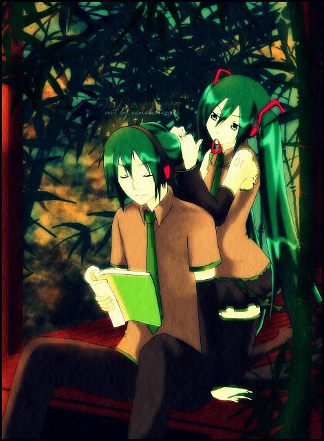 Vocaloid, Mikuo Hatsune, Miku Hatsune, Member Art