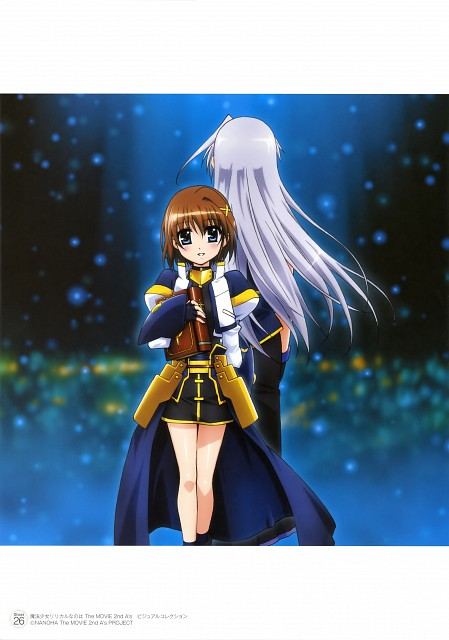 Seven Arcs, Mahou Shoujo Lyrical Nanoha, MSLN The Movie 2nd A's Visual Collection First, Reinforce, Hayate Yagami