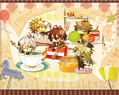 Mai Hanamura, Idea Factory, Candy Pot Uta Natsume Artbook, AMNESIA, Toma (AMNESIA)