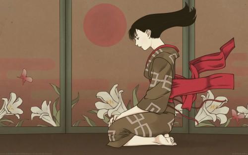 Hiroaki Samura, Bee Train, Blade of the Immortal, Rin Asano, Vector Art Wallpaper