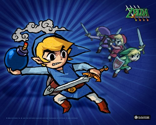 Nintendo, The Legend of Zelda: Four Swords Adventures, The Legend of Zelda, Toon Link, Link