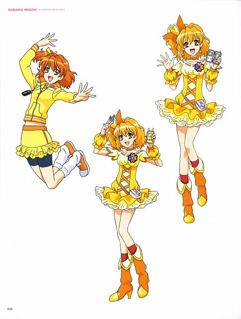 Toei Animation, Fresh Precure!, Hisashi Kagawa Toei Animation Precure Works, Cure Pine, Inori Yamabuki