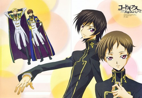 Takahiro Kimura, Sunrise (Studio), Lelouch of the Rebellion, Gino Weinberg, Rolo Lamperouge