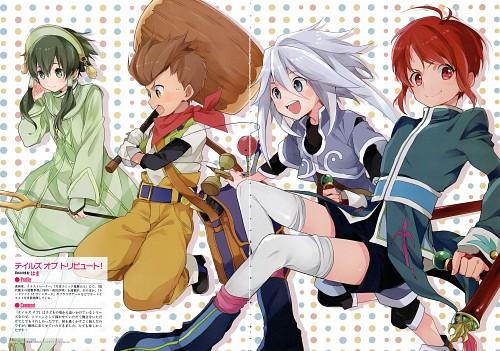 Mutsumi Inomata, Kousuke Fujishima, Namco, Tales of Vesperia, Tales of Rebirth