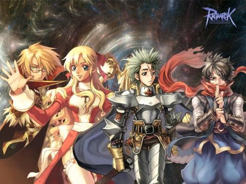 Ragnarok Online, Ninja (Ragnarok Online), Priestess (Ragnarok Online), High Wizard Wallpaper