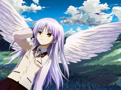 Na-Ga, Key (Studio), Angel Beats!, Kanade Tachibana Wallpaper