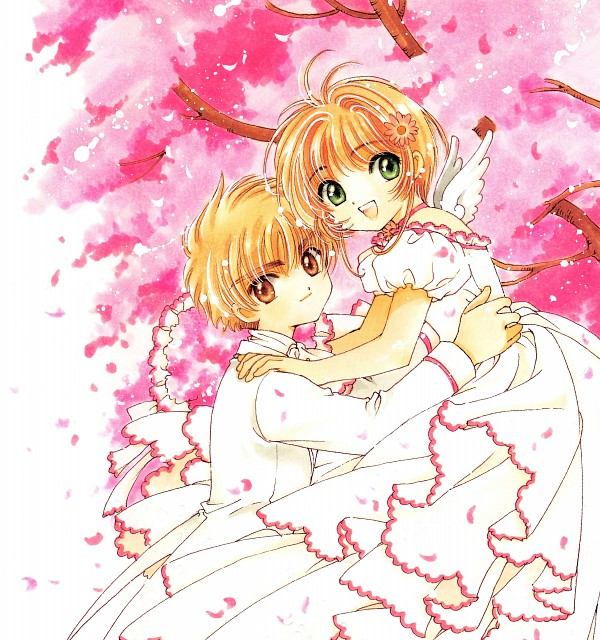 CLAMP, Cardcaptor Sakura, Cardcaptor Sakura Illustrations Collection 3, Syaoran Li, Sakura Kinomoto