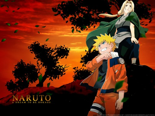 Masashi Kishimoto, Studio Pierrot, Naruto, Naruto Uzumaki, Tsunade Wallpaper