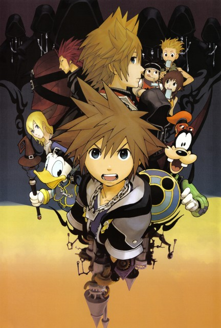Shiro Amano, Art Works Kingdom Hearts, Kingdom Hearts, DiZ, Pence
