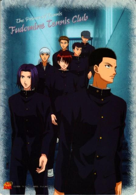 Takeshi Konomi, J.C. Staff, Prince of Tennis, Kippei Tachibana, Tetsu Ishida