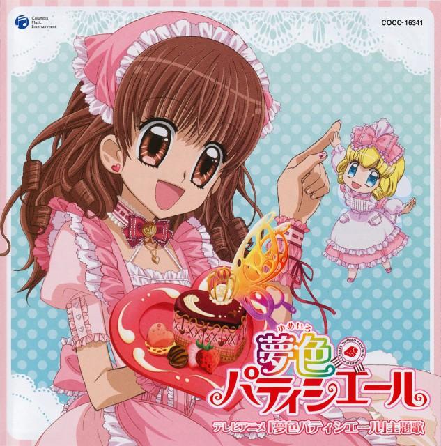 Studio Pierrot, Yumeiro Patissiere, Ichigo Amano, Vanilla (Yumeiro Patissiere), Album Cover