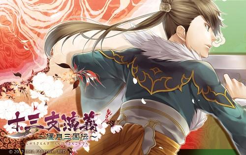 Teita, Idea Factory, Jyuzaengi Engetsu Sangokuden, Chouun (Jyuzaengi), Official Wallpaper