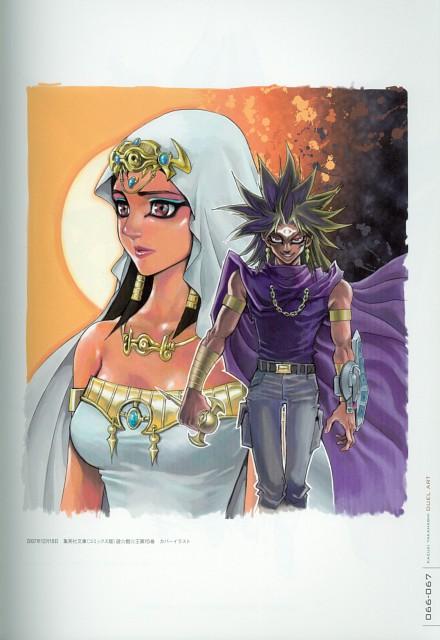 Kazuki Takahashi, Studio Gallop, Yu-Gi-Oh Duel Monsters, Duel Art - Kazuki Takahashi Yu-Gi-Oh! Illustrations, Yami Marik