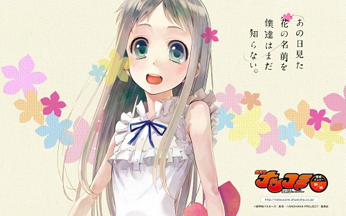 A-1 Pictures, AnoHana, Meiko Honma, Official Wallpaper