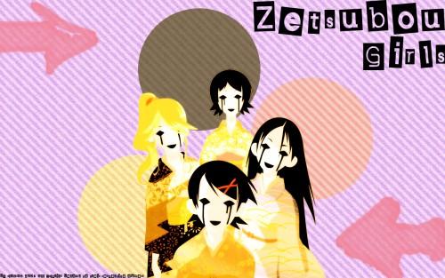 Kouji Kumeta, Shaft (Studio), Sayonara Zetsubou Sensei, Kaere Kimura, Nami Hitou Wallpaper